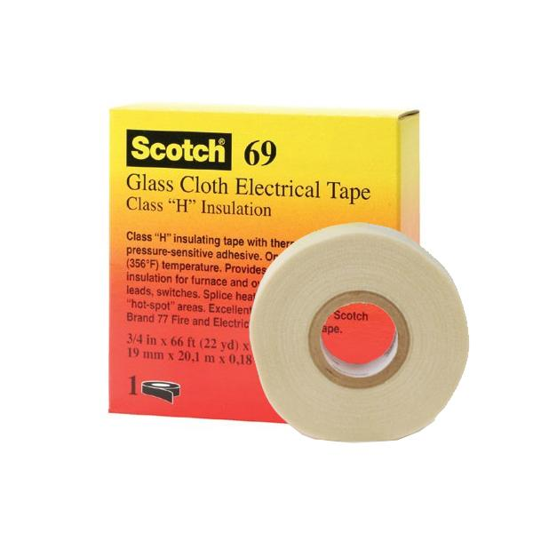 M Glass Cloth Electrical Tape