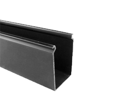Black Solid Duct